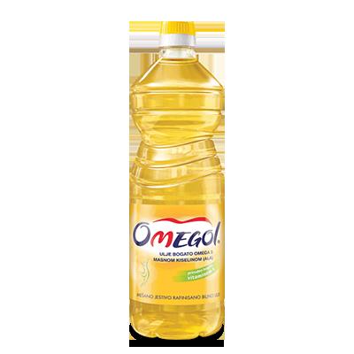 ULJE DIJAMANT SUNCOKRETOVO OMEGOL PVC 1L
