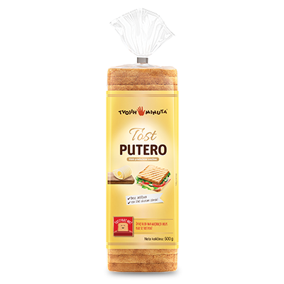 HLEB DON DON PUTERO TOST 500G